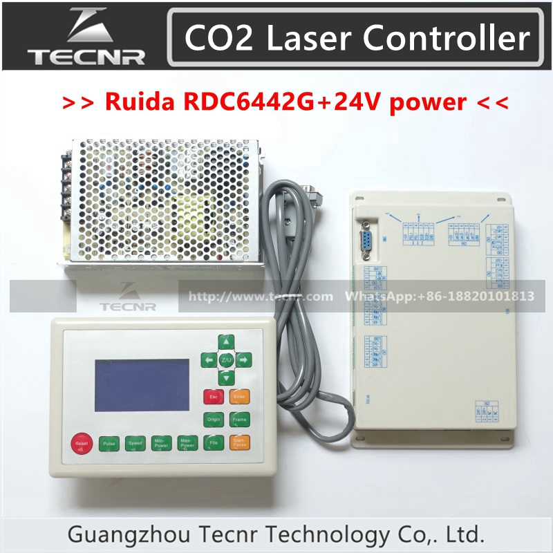 все цены на RUIDA RDC6442G CO2 Laser Control System 4 axis DSP controller and Meanwell 24V 3.2A 75W switch power supply онлайн