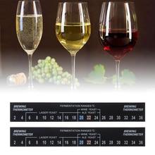 Мода 2C до 36C цифровой ферментер термометр для варки стикер Винный Спирт полезные пивные клеи полосы домашний бар ферментация инструмент