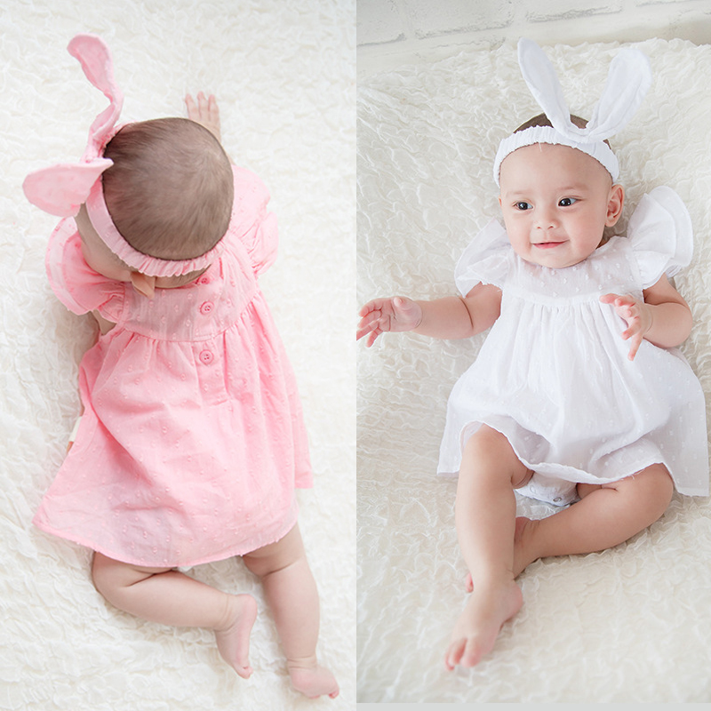 f2d936361c0f0 HOT SALE] newborn baby girl dresses clothes summer with flower 0 3 6 ...