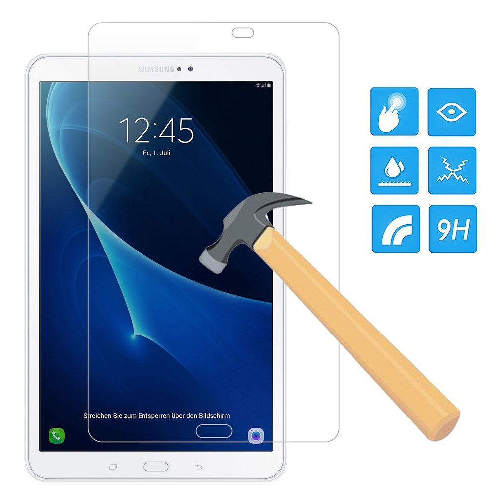 Genuine 9H Tempered Glass Screen Protector For Samsung Galaxy Tab A 10.1 SM-T580