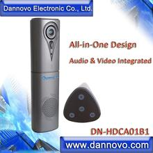 DANNOVO USB All-in-One Audio Video Conference Camera, Full Duplex Microphone, Built-in Speaker, HiFi, Echo Cancellation
