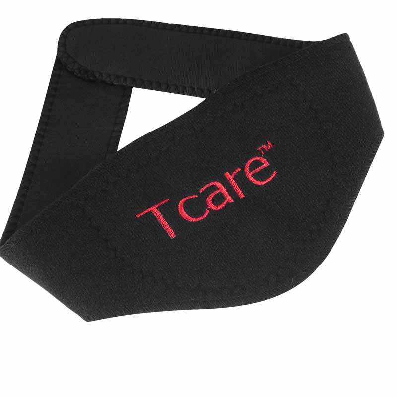 * Tcare 1Pcs Tourmaline Neck Belt Self-heating brace magnetic Therapy Wrap Protect band Neck Support Massager belt Health Care 5
