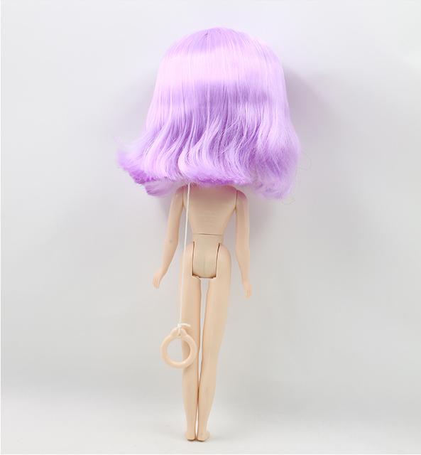 ICY Neo Blythe Doll Purple Short Hair Regular Body