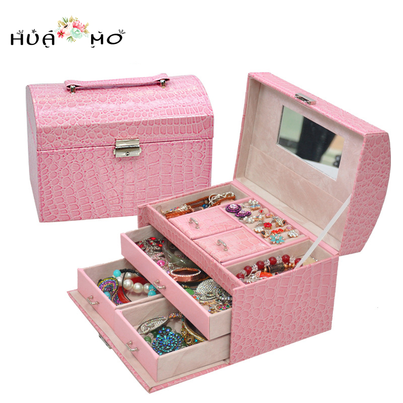 Jewelry Gift Boxes Jewelry Display Box Mirror Jewelry Box Jewelry Packaging & Display Accessories Supplies Gear Stuff Products dragon mahogany jewelry box jewelry boxes embossed ebony round mahogany jewelry box wooden jewelry box large