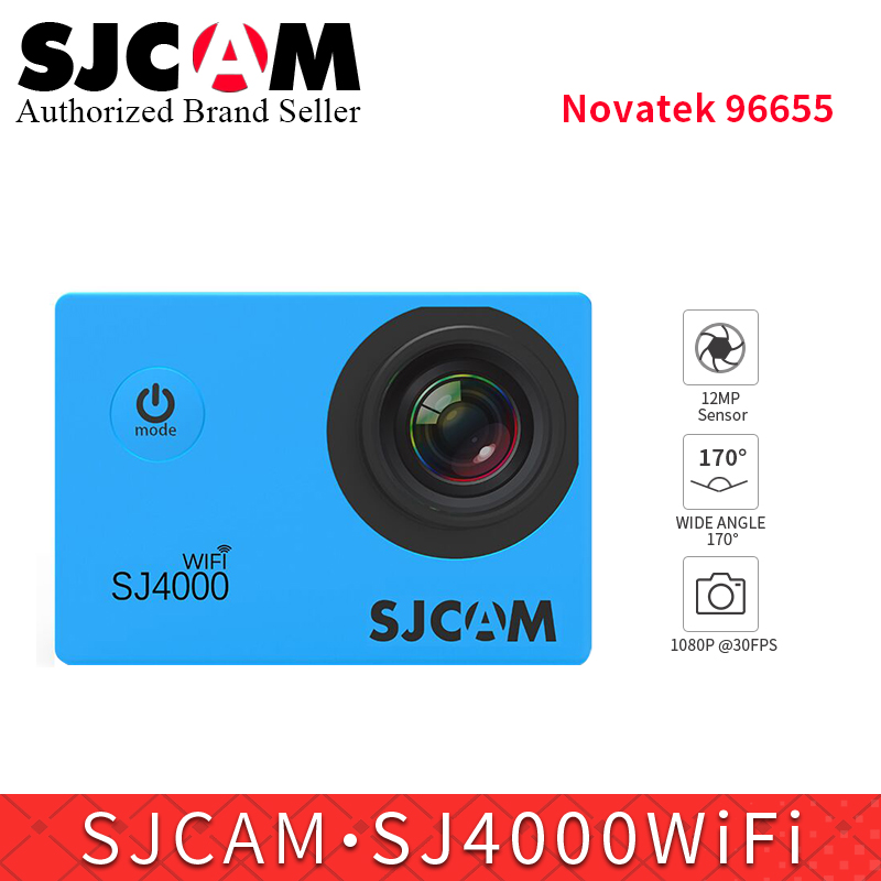 2.0 original SJCAM Sj4000 Series SJ4000wifi 1080P Full HD Mini Action Camera 30m Waterpr ...