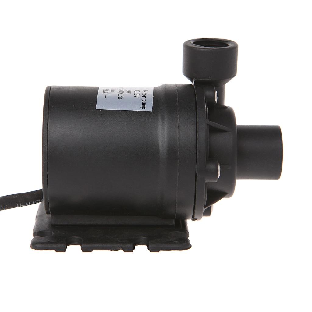 Pumpen 2018 Hohe Qualität Neue 800l/h 5 M Dc 12 V Solar Bürstenlosen Motor Wasser Zirkulation Wasserpumpe Mit 4 P Stecker Unterscheidungskraft FüR Seine Traditionellen Eigenschaften