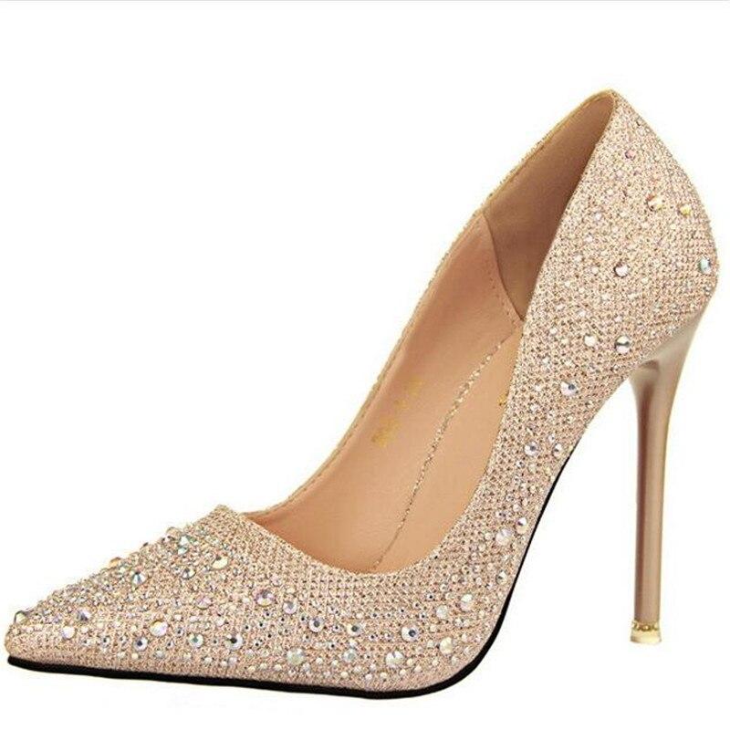 Cristal Tamaño Normal Mujeres Alto 2017 1 34 Zapatos Sandalias Envío Tacón Gratis 2 Mujer Nuevas 5 6 4 De 39 Bombas 3 5vnAnqzP0