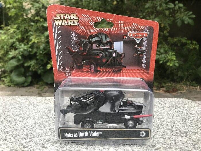 Disney Pixar Cars Starwars Mater como Darth Vader Metal Diecast Vehículo Coche Nuevo
