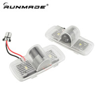 2pcs For Honda Accord Crosstour Pilot Ghost Shadow Welcome Light Door Logo Projector Light