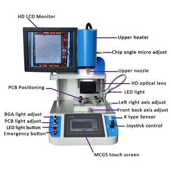SZBFT Best feedback WDS-700 auto mobile ic repairing machines tools bga table machine