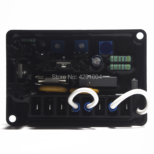 Match 3 Phase Generator AVR AVC63-4 for Alternator generator parts match brush and brushless generator parts pow50a