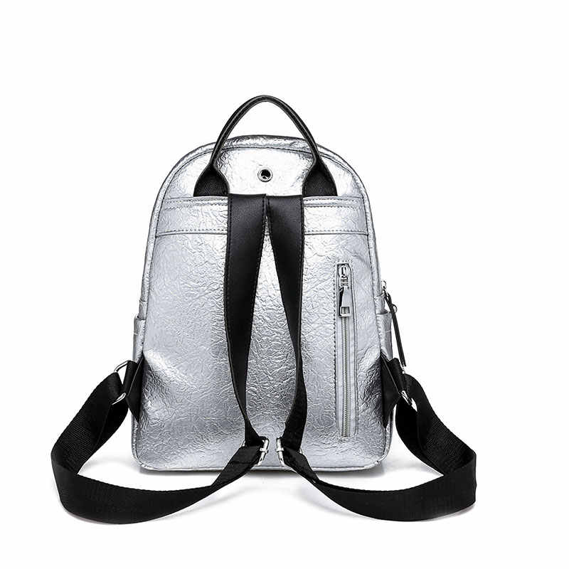 dd50614a5e ... Classic Brand Women Backpack Fashion Small School Bags For Teenager  Girls High Quality Leather Anti Theft ...