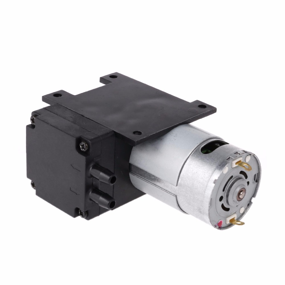 DC 12V Mini Vacuum Pump 8L/min High Pressure Suction Diaphragm Pumps With Holder