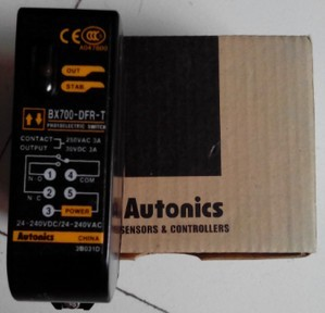 . Otto Nicks Autonics photoelectric switch BX700-DFR-T original genuine otto nicks autonics optical fiber sensor bf3rx original genuine