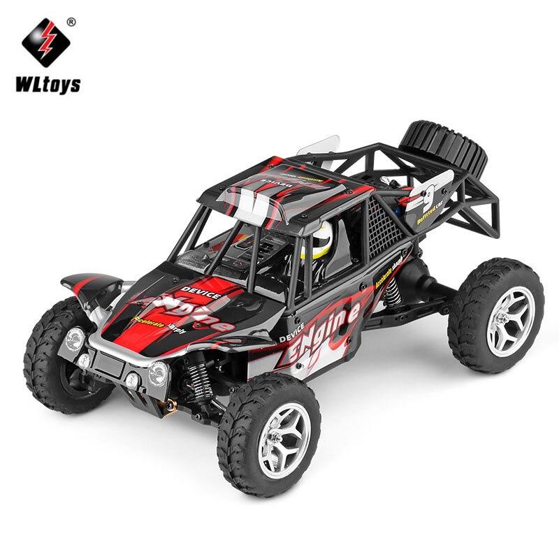 WLtoys 18429 1:18 4WD RC Car 2.4G Off-Road Desert Radio Control RC Buggy Car Rock Rover High Speed mini RC Car