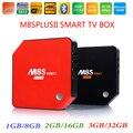 3 GB de RAM 32 GB S912 M8S Plus II Amlogic Octa Núcleo Android 6.0 TV caixa de 2.4/5G Wifi H.265 BT4.0 Kodi 17.0 4 K 1000 M LAN + i8 Backlit