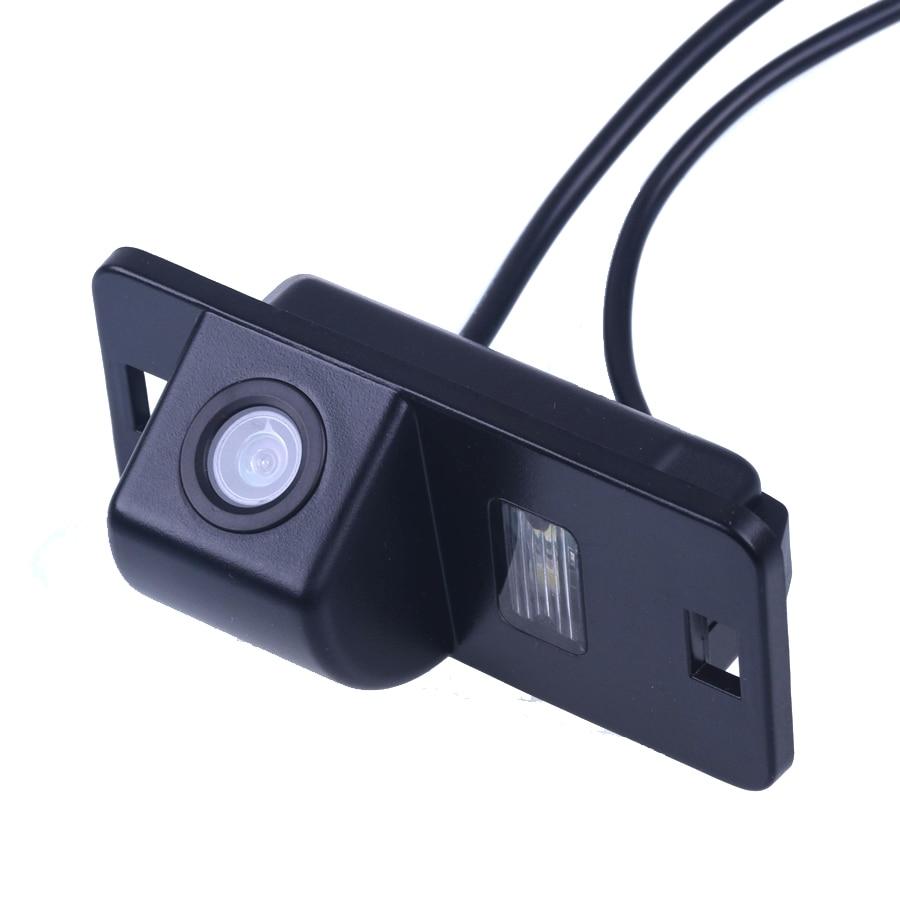 Նոր մեքենայի հակադարձող ֆոտոխցիկի հետևի տեսքը հակառակ տեսախցիկ CCD համար BMW 3/7/5 Սերիայի E39 E46 E53 X5 X3 X6