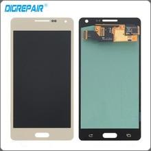 """4.8 """"de Oro Para Samsung Galaxy A5 A500 A500F Pantalla LCD Táctil Digitalizador Asamblea Replacemet Parte Envío Gratis + Número de seguimiento"""