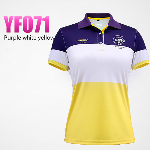 2018 Hot Selling New Breathable Golf Polo Shirt Women Short Sleeved Quick Dry T - shirt Ladies Sports Jersey Dressing size S-XL
