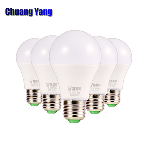 5pcs/lot LED Bulb Lamp E14 E27 3W 5W 7W 9W 12W 15W 18W Ac85-265V 110 Factory Price Ac85-265V Lampada Bombillas Lights for Home(China)