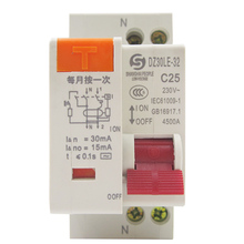 DZ30LE-32 household leakage protector, 10A, 16A, 20A open small circuit breaker 1P+N6A32A25A