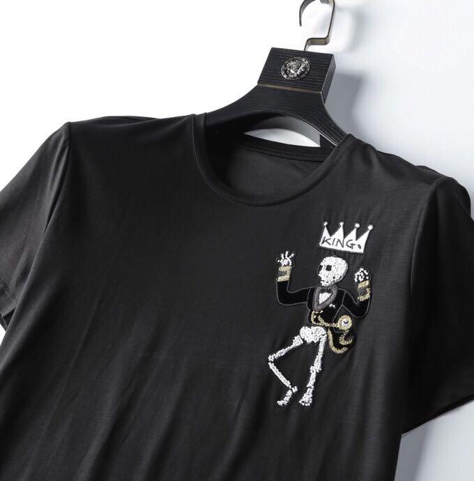 Mode hommes ensembles 2019 piste de luxe célèbre marque Design européen fête style vêtements pour hommes WD05340 - 4