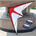 Frete grátis Outdoor Fun Sports 1.6 m linha dupla / Stunt Kite com alça e linha de voar