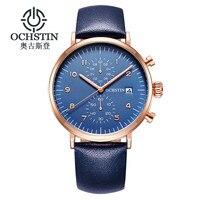 OCHSTIN Business Watch Men Watches 2017 Top Brand Luxury Famous Mens Quartz Watch Wrist Male Clock