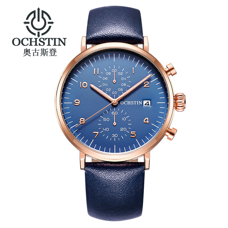 OCHSTIN Business Watch Men Watches 2017 Top Brand Luxury Famous Mens Quartz Watch Wrist Male Clock Hours Relogio Masculino