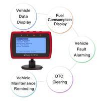 A501 V checker Trip Computer OBD II Scanner Car Engine Fault Code Reader CAN Diagnostic Scan Tool