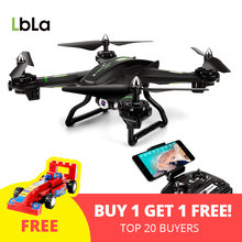 LBLA S5 RC Drone with Wifi Camera Live Video Headless Mode Helicopter 4 CH 6 Axis Gyro RTF Quadcopter Compatible with 3D VR(China)