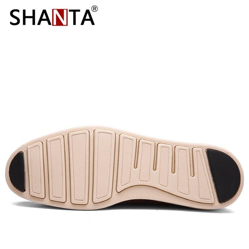 2018 verano nuevos zapatos casuales para hombres de época zapatos formales de cuero calado tejido tallado Oxfords Zapatos de vestir de boda transpirables - 3