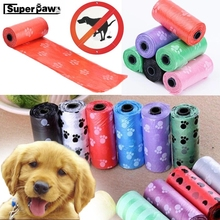 Pet Supply 5 Rolls 10 150pcs Printing Cat Dog Poop Bags Outdoor Home Clean Refill Garbage Bag Dogs Pets accessories JNC04