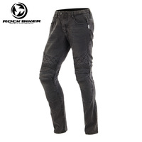 Knee Protective Moto Jeans Casual Pants Off road Bike Motorcycle Riding Jeans Motorbike Racing Pants Trousers with 4 protectors