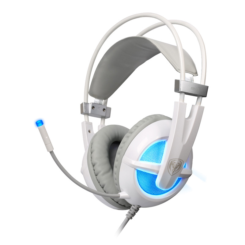 Somic 7.1 Surround Sound USB Gaming Headphones casque Stereo Bass game headset over ear with mic LED Light for computer PC Gamer computer stereo gaming headphones kotion each g100 best casque deep bass game earphone headset with mic led light for pc gamer