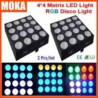 2PCS LOT Party 16 30W Led Light Matrix 4 4 RGB 3 In 1 Show Bar