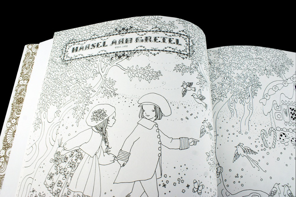 The Fairy Tale Colouring Book Secret Garden Style Coloring Book ...