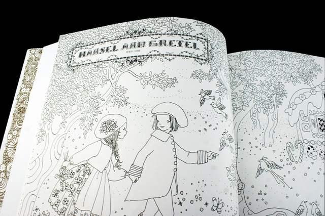 Online Shop The Fairy Tale Colouring Book Secret Garden Style ...