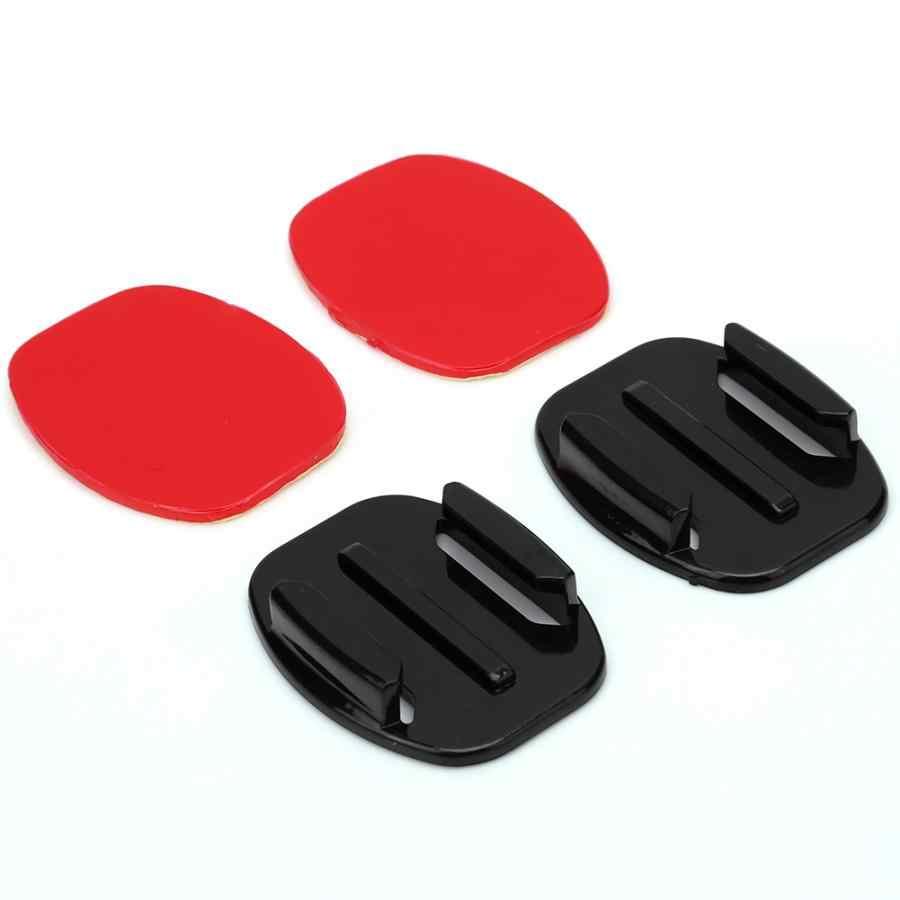 Аксессуары для спортивной камеры аксессуары для шлема удлинитель плоское изогнутое крепление на клейкой основе dvr комплект для экшн-камеры Gopro Hero 2/3/3 +/4 действие высокого качества