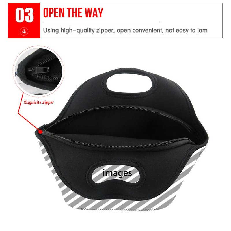 Children Lunch Bag For Boys Girls Travel Picnic Cooler Handbag Roblox Games  Prints Women Neoprene Lunchbox Insulated Thermal Bag