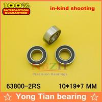Factory Direct Sale 63800 2RS L 1910VV 10 19 7 Mm High Quality Miniature Deep Groove