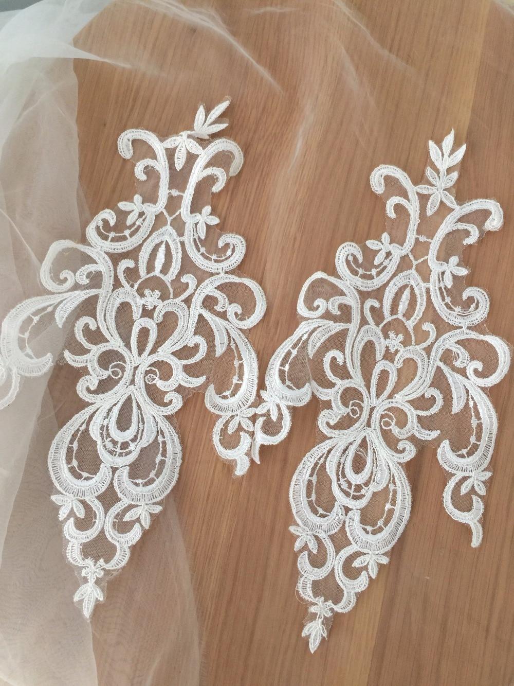 Bcu Customer Service >> Beaiutiful Soft White French Alencon Lace Fabric Applique ...