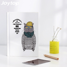 Joytop Hello Animals II Notebook Cat Dog Horse Bear pattern Cute Kawaii Drawing Pockets Notepad Lovely Notebook 4 Styles gift