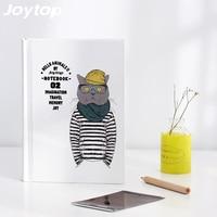 Joytop Hello Animals II Notebook Cat Dog Horse Bear Pattern Cute Kawaii Drawing Pockets Notepad Lovely