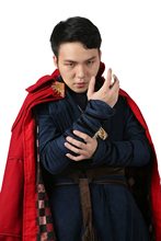 XCOSER Doctor Strange Costume Movie COSplay Completed Outfit Suit Mens Adult Size