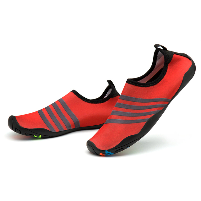 9b82037dc01d Outdoor Women s Water Shoes Quickly-dry Summer Footwear Barefoot Skin Shoes  Lightweight Breathable Swimming Yoga Fitness Flats