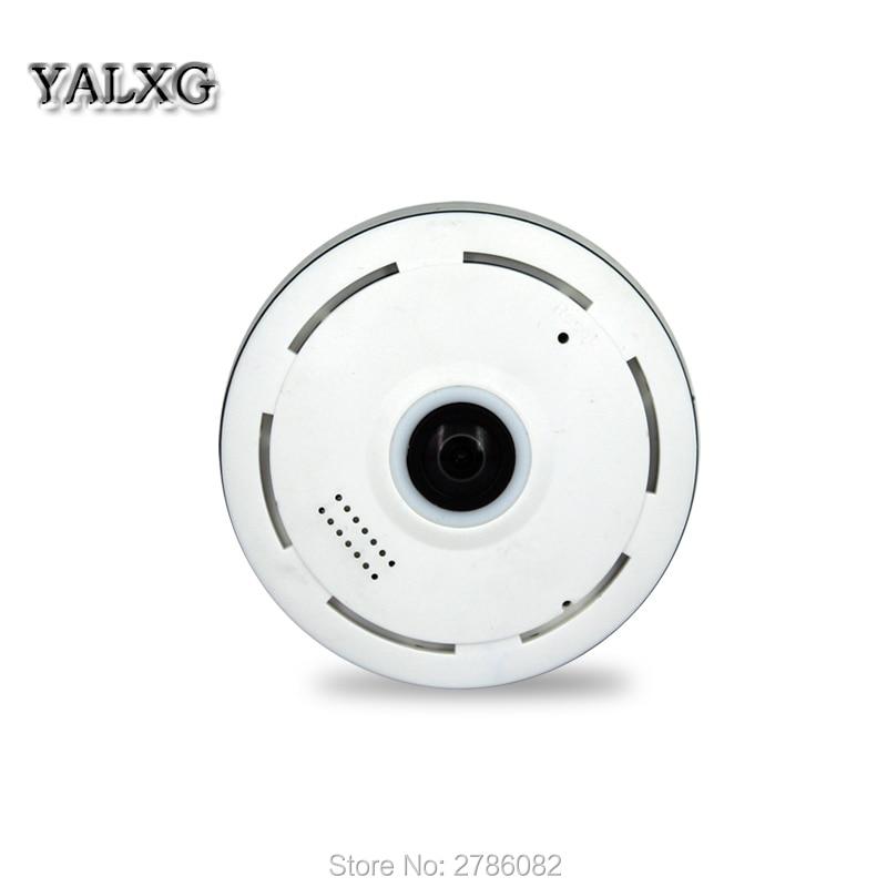 ФОТО YALXG Home Security 360 Degree Panoramic IP 960P 1.3MP Camera Wi-fi Two Way Audio WebCam SD Card Slot Digital PTZ