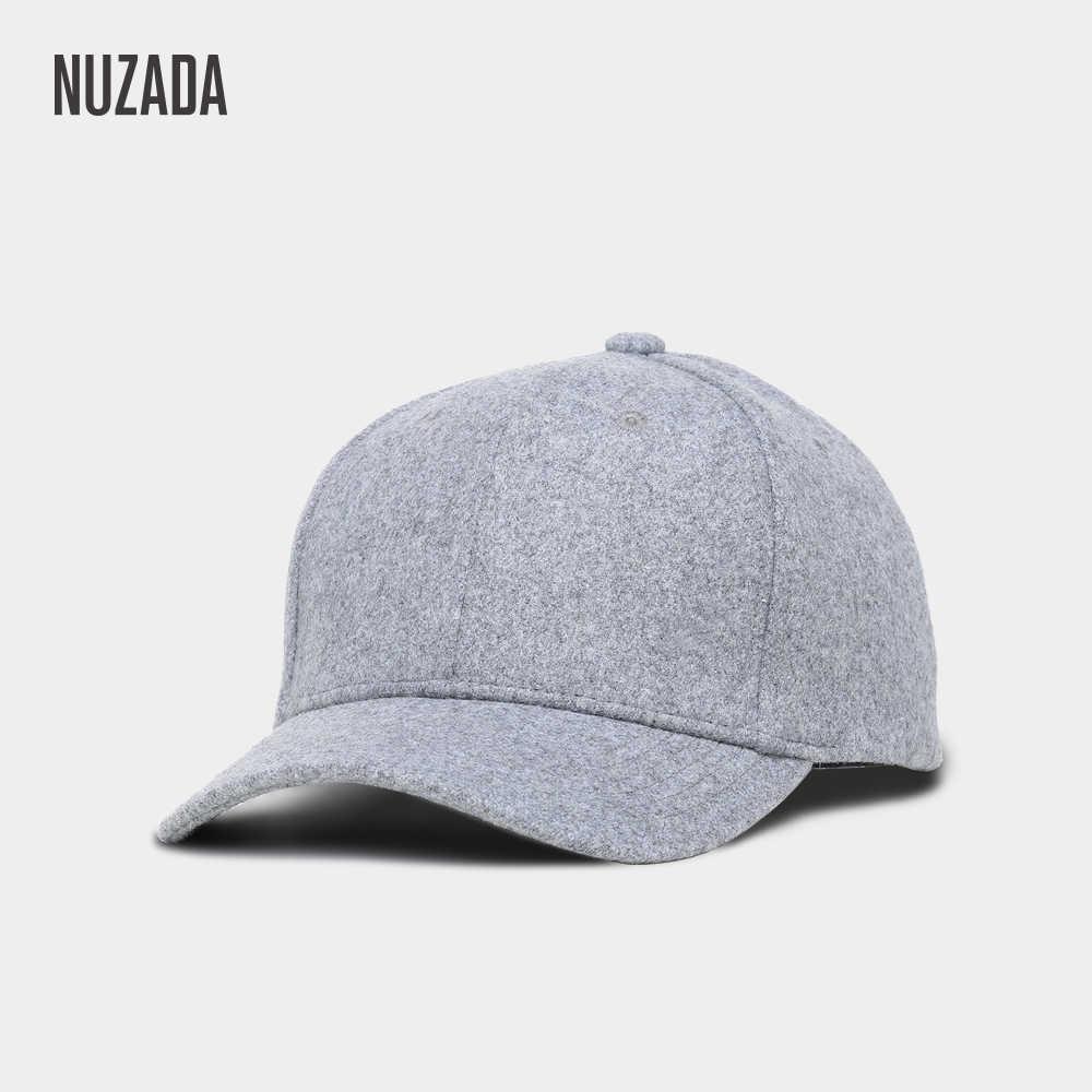 81652e09b77 NUZADA Keep Warm Baseball Cap Warm Men Women Couple Neutral Hat Autumn  Winter Snapback Caps NUZADA