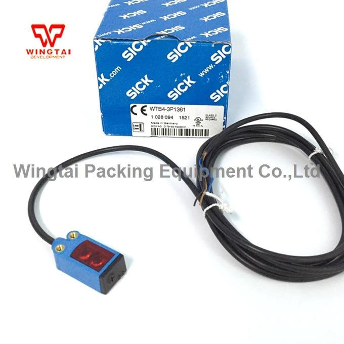 Brand New High Quality Germany SICK Sensor WTB4-3P1361 Photoelectric Sensors Photo Cell Sensor 5pcs lot photoelectric sensor e3c 1 is brand new