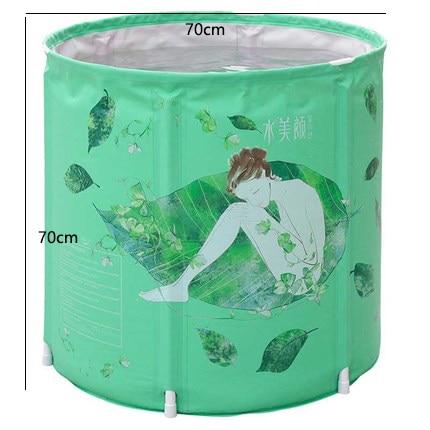 Высокое качество для взрослых Для ванной ванны дома Для ванной ванны складной Для ванной ванна детская Пластик Портативный Для ванной Ванн